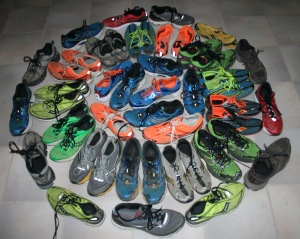 Some of our Saucony running shoes