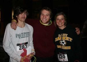 Joseph, Nathan, and Madison Buntin